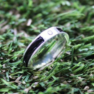 Aviiso sterling zilveren ring met paardenhaar