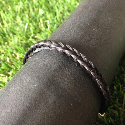 Aviiso sieraden met paardenhaar armband