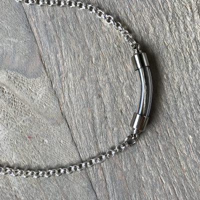 glaskraal aviiso paardenhaar huisdierenhaar ketting