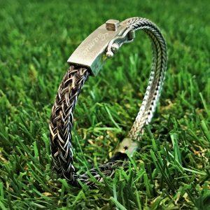 Aviiso sieraden armband met paardenhaar paardenhaarsieraad